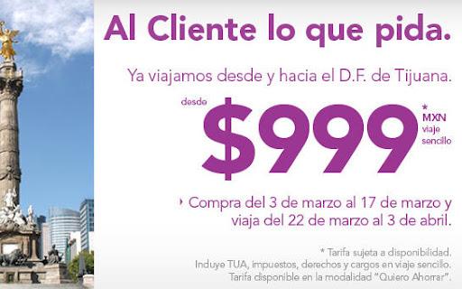 Volaris.com oferta de pasajes aereos